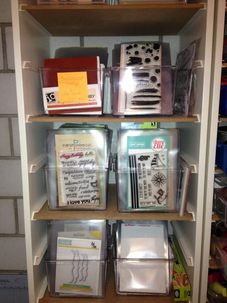 Storage Clearstamps